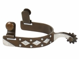 Schutz Bros Women's Diamond and Dot Rhinestone Spurs 238455