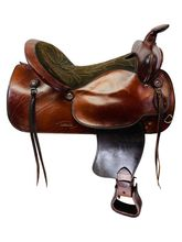 SOLD 2019/08/19 PRICE REDUCED! 16 Inch Used Simco Western Trail Saddle 3528 *Free Shipping*