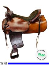 16 Inch Used Simco Western Trail Saddle 3528 *Free Shipping*