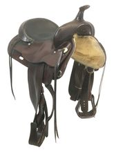 SOLD 2021/03/20 16 Inch Used Circle Y Park and Trail Saddle 3634 *Free Shipping*