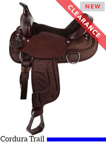 """SOLD 2020/10/24  15"""" South Bend Saddle Co Lady Trail Saddle 2000, CLEARANCE"""