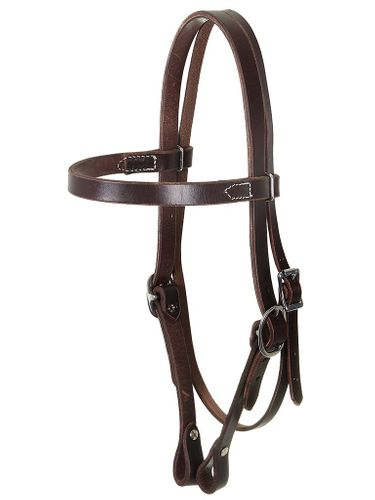 South Bend Saddle Co. Headstall Chocolate 4002