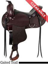 "15"" Brown South Bend Saddle Co ""Navigator"" Gaited Trail Saddle 1003 CLEARANCE"