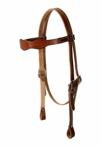 South Bend Saddle Scalloped Headstall 4487
