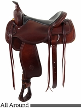 "** SALE **15"" to 16"" The Oregon Trail All Around Saddle by Colorado Saddlery 100-6336"