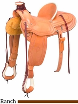"15"" to 17"" The Southwest Wade Ranch Saddle 200-6344"