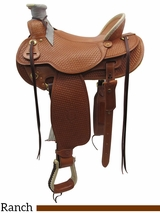 "15"" to 17"" The Teton Valley Wade, Wide Tree Saddle by Colorado Saddlery 300-291-292-293"