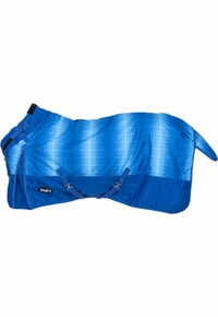 Tough-1 1200D Chevron Turnout Blanket w/ Snuggit Neck 32-7125S