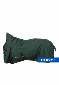 Tough-1 1200D Waterproof Poly 300gm High Neck Turnout Blanket 32-2120HN