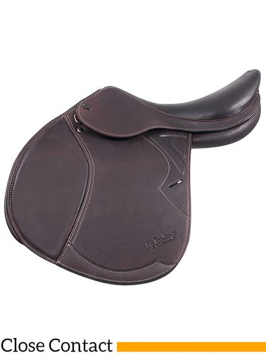 ** SALE **M.Toulouse Patrice Platinum Close Contact Saddle w/ Genesis Tree 9101