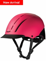 DISCONTINUED - SOLD OUT 2019/03/04 Troxel Spirit Melon Duratec All-Purpose Riding Helmet 04-543