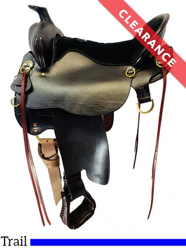 """SOLD 2020/11/23  16.5"""" Tucker High Plains Trail Saddle T60, CLEARANCE"""