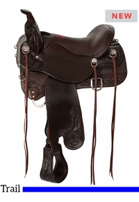 Tucker Meadow Creek Trail Saddle T91 w/Free Pad