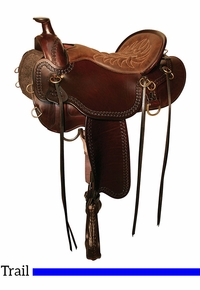 Tucker Pine Ridge Mule Trail Saddle 289 w/Free Pad