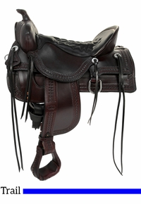 Tucker Saddles Old West Trail Saddle 277 w/Free Pad