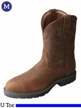 Twisted X Distressed Saddle Work Boots MWP0001