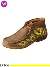 Pre-Order  Women's Twisted X Bomber/Sunflower Driving Moccasins WDM0128