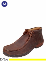 Men's Twisted X Bomber/Copper Driving Mocs MDM0014