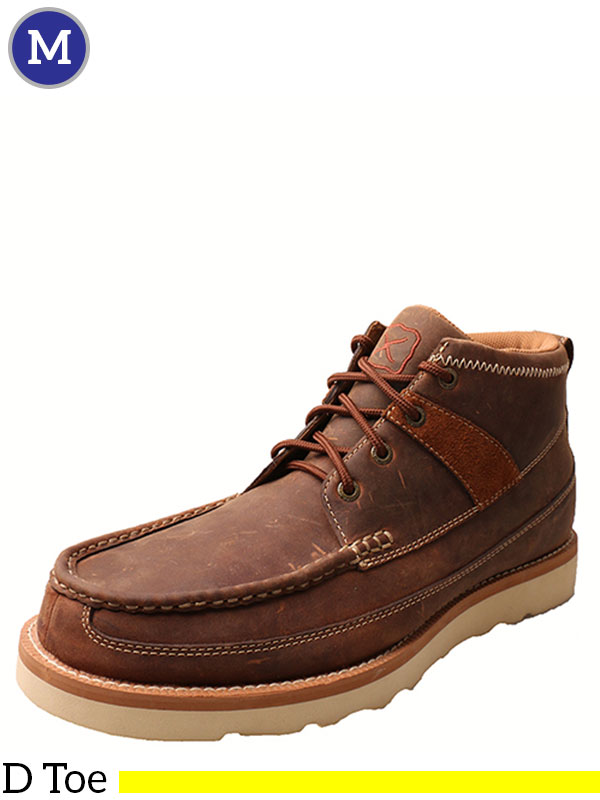 Twisted X Oiled Saddle Casual Shoes MCA0007