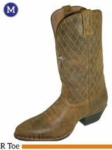 """Twisted X Men's Western 13"""" R Toe Boots Bomber mwt0012"""