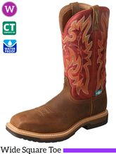 Twisted X Women's Comp Toe Lite Western Work Boot WLCCW01