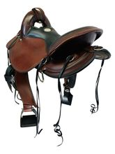 Used Circle Y Julie Goodnight Cascade Crossover Trail Saddle 1753 *Free Shipping*