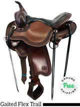 "15"" Used Circle Y Gaited Flex Trail Julie Goodnight Blue Ridge 1751 uscy4424 *Free Shipping*"