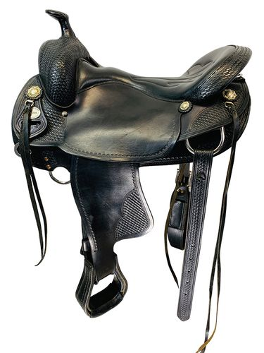 Used Crates Lightweight Trail Saddle 2171 *Free Shipping*