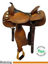 "PRICE REDUCED! 16"" Used Crates Classic Reiner Saddle 2221 uscr4348 *Free Shipping*"