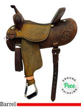 "PRICE REDUCED! 14.5"" Used Martin Barrel Classic Saddle 2009 usmr4351 *Free Shipping*"