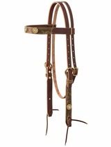 Weaver Backwoods Browband Headstall 10-0522