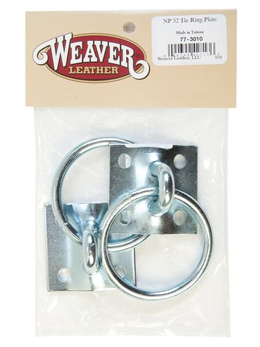 Weaver Bagged Tie Ring Plates 77-3010