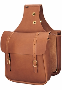 Weaver Chap Leather Saddle Bag 90-4251
