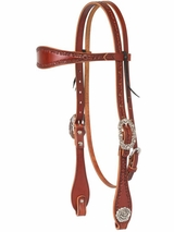 Weaver Filigree Hand Tooled Browband Headstall 10-0550