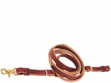 Weaver Harness and Latigo Leather Round Roper Reins 50-1490