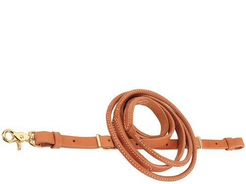 Weaver Harness Leather Round Roper & Contest Reins 50-1500