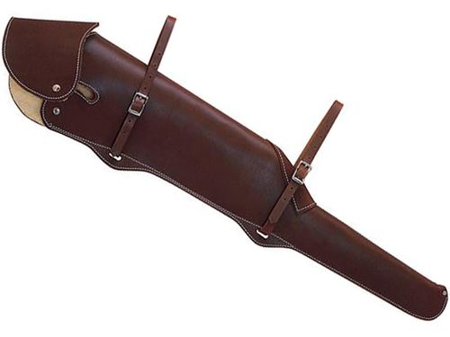Weaver Heavy-Duty Gun Scabbard with Flap and Lining 65-3266