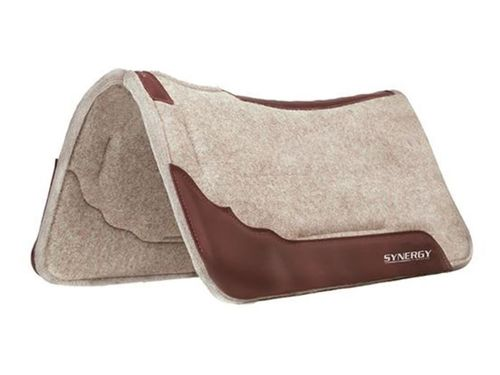 Weaver Synergy Contoured Performance Wool Blend Felt Saddle Pad 36003