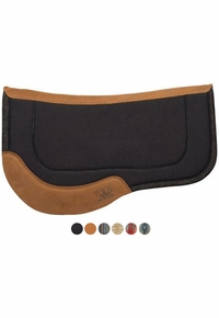 "Weaver Trail Gear Canvas Felt Bottom Saddle Pad 29""L x 34""D 35-9356"