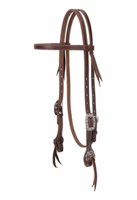 Weaver Working Tack Straight Browband Headstall 10-0640