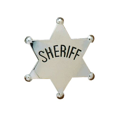 Western Kids Sheriff Badge 2820436