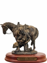 Western Moments Cowboy Prayer Statue 59104