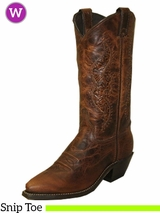 Women's Abilene Tooled Inserts Western Boots 9141