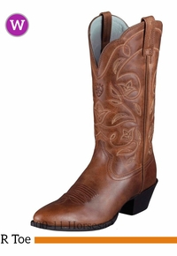 Women's Ariat Heritage Russet Rebel Boots 10001015