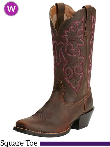 Women's Ariat Round Up Square Toe Boots 10014172