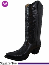 Women's Circle G by Corral Black Cross Boots L5060