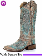Women's Corral Metallic Inlay Boots A3417