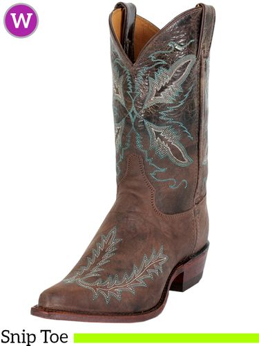 Women's Justin Distressed Dark Brown Bent Rail® Boots BRL106 ZDS