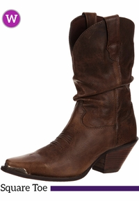 Women's Durango Crush Brown Sultry Slouch Boots RD3494