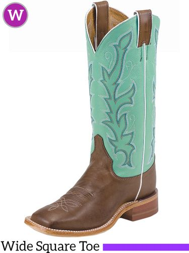 Women's Justin Albany Sea Green Bent Rail® Boots BRL310 ZDS